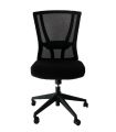 Ergonomic Mid Mesh Back Office Chair Without Armrest
