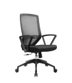 Mid Back Mesh Chair with Fixed Armrest