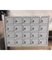 Metal Pigeon Hole Cabinet